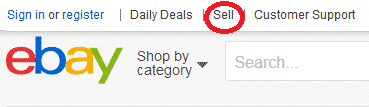 Learn to sell with eBay directions