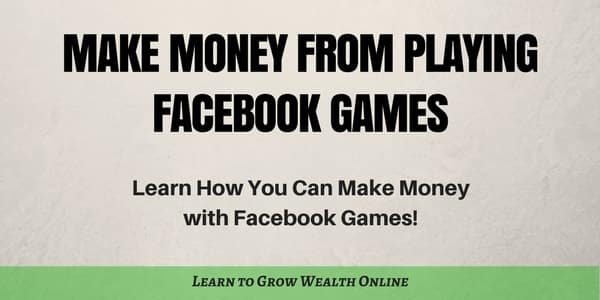 make money with facebook games