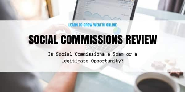 social commission review scam image