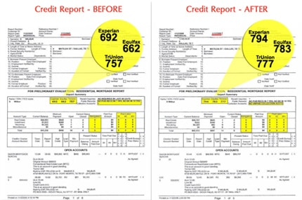 credit credit card no report required