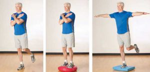 A screenshot a physical therapy balance training that could be used as an online niche business.