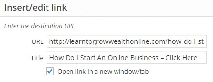How To Link Your Website photo
