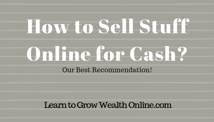 How to Sell Stuff Online for Cash Image