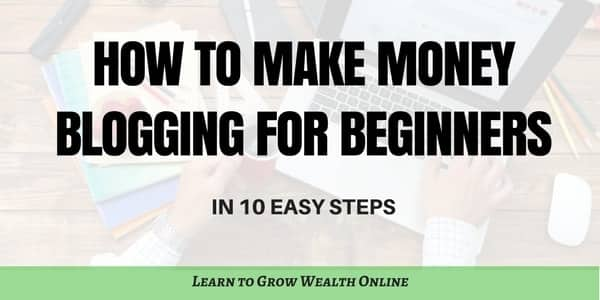 How to Make Money Blogging For Beginners Photo