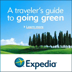 Photo of affiliate links using an affiliate banner from Expedia.com