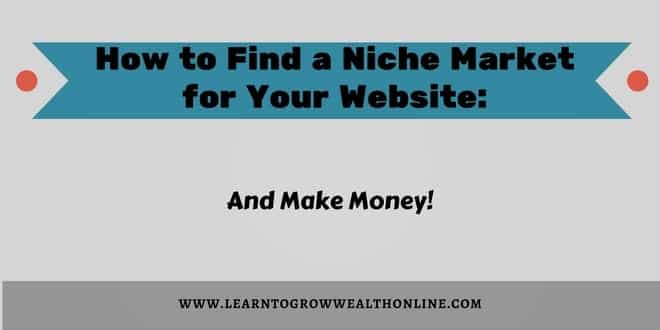 how to find a niche market image