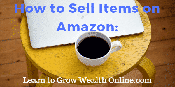 how to sell items on amazon image