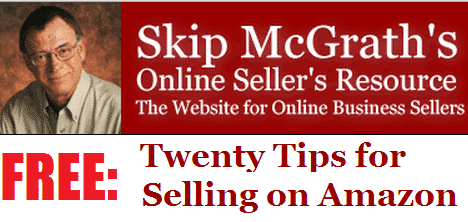 A picture of Skip McGrath with the headline of his Amazon course.