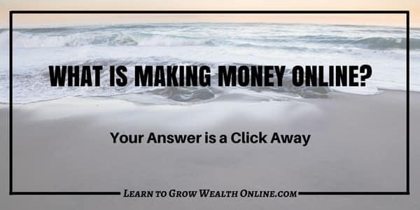 What is Making Money Online Today Image