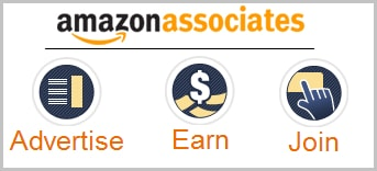 Image of Amazon Associate's affiliate program and three steps to make money from the internet.
