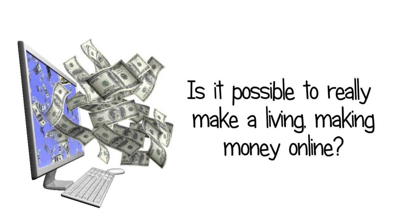 how to make money from the internet photo