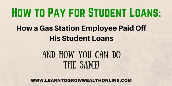 how to pay for student loans image
