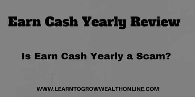 what is earn cash yearly scam review image