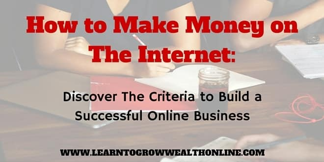 how to make money on the internet from home image