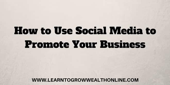 how to use social media to promote your business image