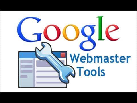 Logo of Google's webmaster tools