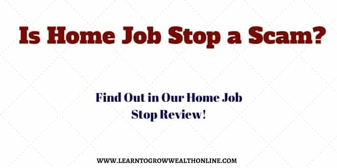 Is Home Job Stop a Scam? Home Job Stop Reviews