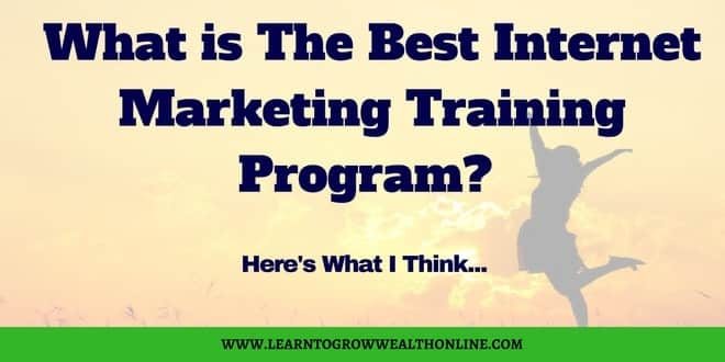 what is the best internet marketing training program image