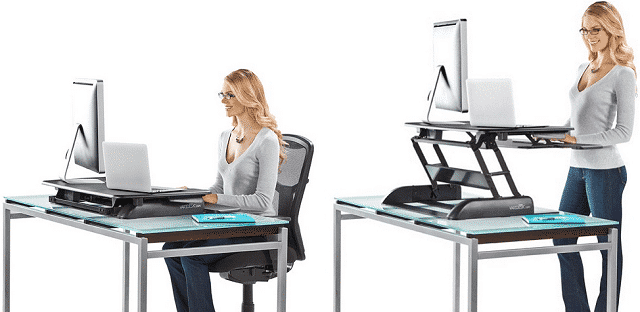 what is varidesk - demonstration photo