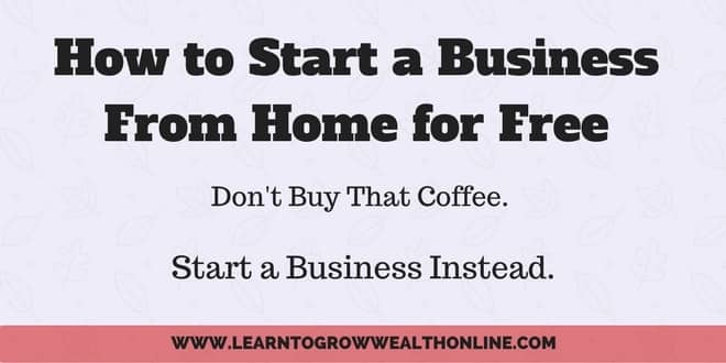 how to start a business from home for free image