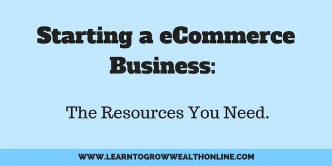 starting a eCommerce business photo