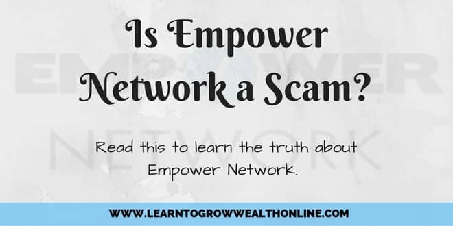Is Empower Network a Scam Review Image
