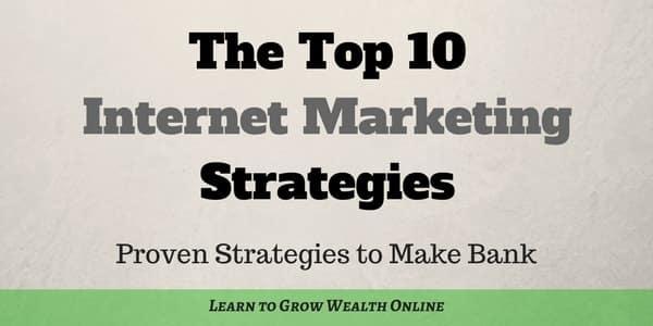 the top 10 internet marketing strategies photo