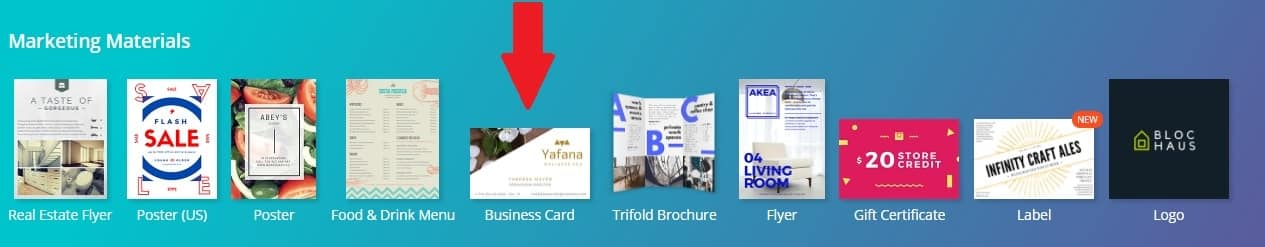 How to create business cards with qr codes in 10 minutes or less create a business card with qr codes screenshot colourmoves