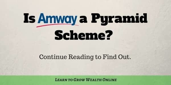 is amway a pyramid scheme review photo