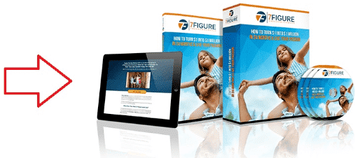An image showing the cover of the 7 Figure Freedom Formula products.