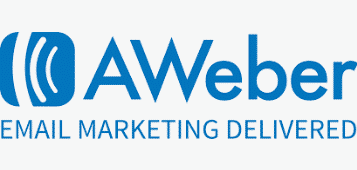 A picture showing Aweber's logo and description.