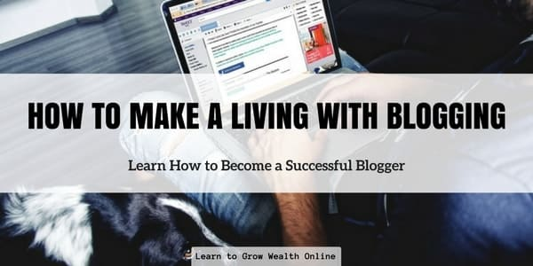 How to Make a Living With Blogging Image