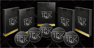 A screenshot of Operation 10k's product covers.