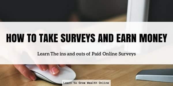 How to Take Surveys and Earn Money Photo