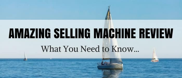 Amazing Selling Machine Review Cover Image