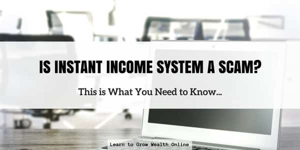 is instant income system a scam photo
