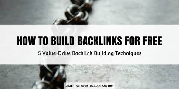 An image that links to an article about how to build backlinks for free to improve your website's seo ranking factors.