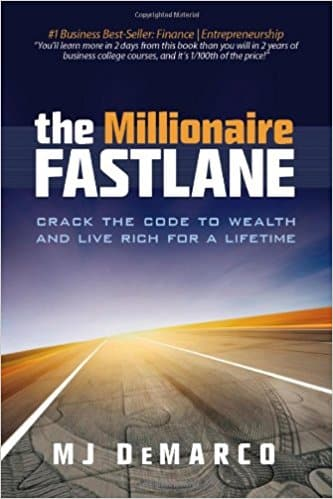 "A cover for ""The Millionaire Fastlane"" book, a great how to book for business."