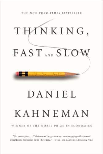 "The cover for ""Thinking Fast and Slow"" one of our best how to books for business."