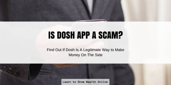 is dosh app a scam review image
