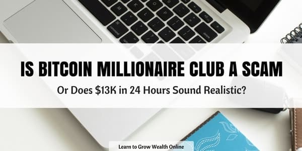 is bitcoin millionaire club a scam image