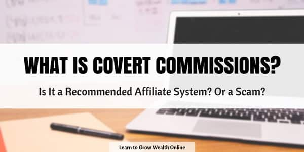 what is covert commissions about image