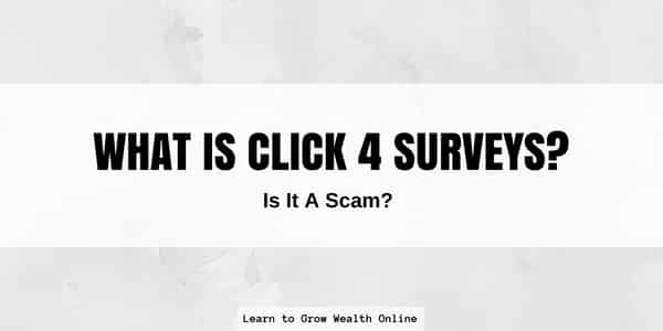 What is Click 4 Surveys Scam Review Image
