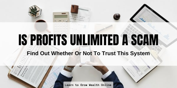 is profits unlimited a scam image