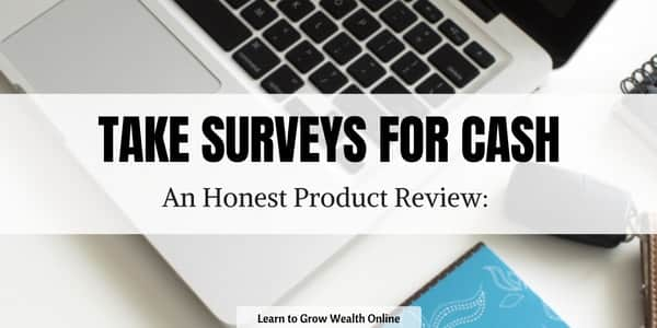 What Is Take Surveys for Cash Image