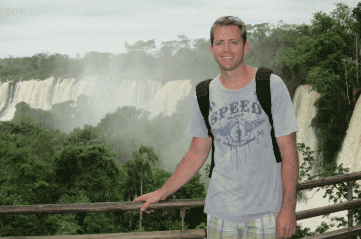 About Image Hiking the Puerto Iguazú Waterfalls in Argentina and Brazil