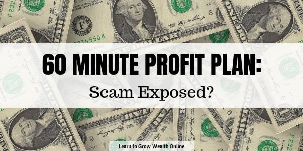 what is 60 minute profit plan about review image