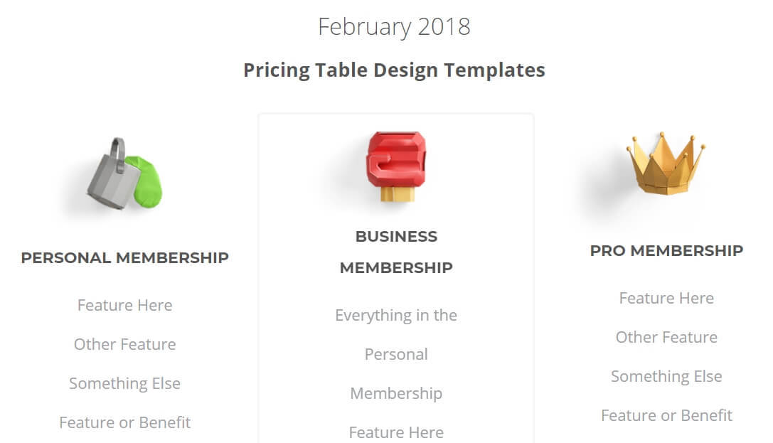 A screenshot of Thrive Membership's exclusive sales page templates for members only