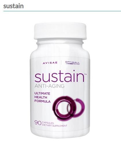 A picture of Avisae's Sustain Anti-aging Capsules