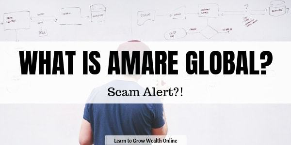 what is amare global scam review image